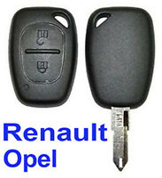 Coque PLIP Télécommande Clé Pour Renault Trafic Kangoo Opel Master Vivaro