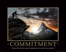 Bicycle Motivational Poster Art Print Mountain Road Bike Helmet Shorts MVP131