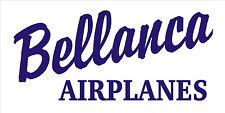 A210  Bellanca Airplane banner hangar garage decor Aircraft signs
