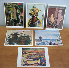 Lot of 6 Georges Braque Art Postcards