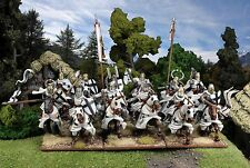 FIREFORGE TEUTONIC KNIGHTS CAVALRY 12 X 28mm ACTION FIGURINES # FFG001