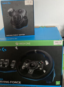New Logitech G920 Steering Wheel And Shifter
