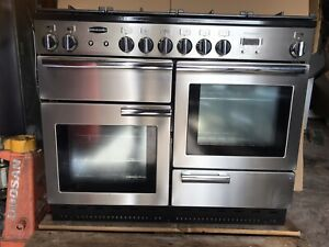 Rangemaster Professional Plus 110 Stainless Steel All Gas Cooker. VGC