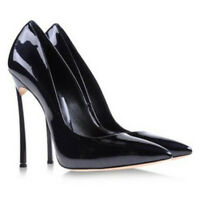 Chic Women's Pointed Toe Patent Leather High Heel Stilettos Pumps Shoes Zsell