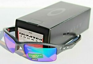 OAKLEY Quarter Jacket Small/Youth Sunglasses Steel/Prizm Golf NEW OO9200-1961