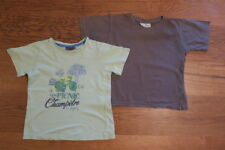 Lot de 2 T-Shirts Garçon Manches courtes Taille 4 Ans