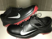 New Nike Tiger Woods TW '17 Mens Sz 13 Golf Shoes 880955 002 Black Silver $200