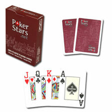 Poker Stars Plastic Copag Cards - FOUR PACK - FREE DVD & SHIPPING