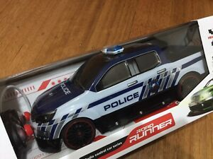 Remote Control Road Runner Police Car Scale 1:14  full function