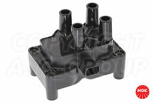 New NGK Ignition Coil For FORD Fiesta MK 7 1.25 Van 2009-On