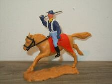 Battler on Horse - Plastic Toy - Timpo Toys England *37783