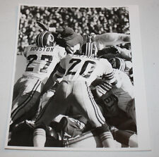Vintage Original Press Photo Washington Redskins Ken Houston Joe Lavender