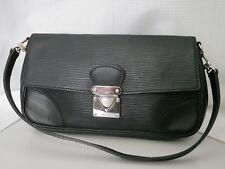 LOUIS VUITTON Epi Pochette Segur Black M58882 Handbag Mini Bag Auth F/S #3425P