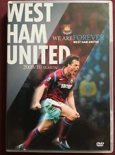 DVD West Ham United 2009/2010 Season Review ORIGINAL 'We Are Forever United'