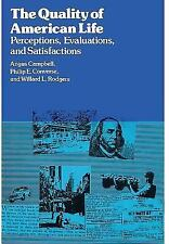 The Quality of American Life: Perceptions-ExLibrary
