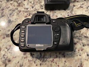 Nikon D80 Digital SLR Body Only Camera - Black