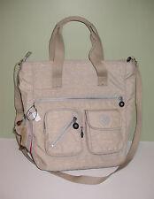KIPLING TM5146 Joslyn Tote Crossbody Bag Creme Beige NWT