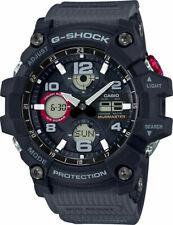 CASIO GSG-100-1A8 G-SHOCK MUDMASTER Tough Solar Black Men's watch