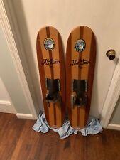 Vintage Trik Master Cypress Gardens wooden water skis