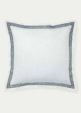 Lauren Ralph Lauren Spencer Embroidery Euro Sham $150 H White/Navy