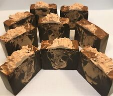 Handmade All Natural Goat Milk Soaps-Cafe Mocha Latte