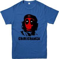 Deadpool Chimichanga T-shirt, Marvel Comics T-shirt. Inspired Superhero Tee