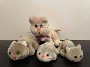 Plush Kennel Kittee Kuddlee Kittee & Baby Set of 4 Kitten Toy Tara Toy