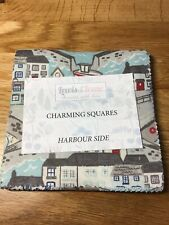 """Lewis & Irene Harbour Side Charm Pack Squares 42 X 5"""" HSCSQ Quilt Fabric"""