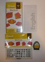 Cricut Projects Cartridge - Mini Books- Complete w/ Keyboard Keypad