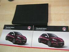 OPEL Adam Owners Manual Manual Cartera 2012-2016 INC RADIO CD