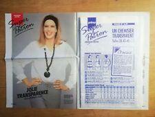 SUPER PATRON PRIMA 1991 N°3 - CHEMISIER TRANSPARENT TAILLES 38 A 46