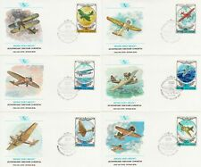 Historic Vintage Aircraft Airplane Aeroplane CCCP Russia Russian 6 FDC 1978