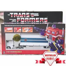 New Transformers G1 White Optimus prime reissue Mint metal front ACTION FIGURE