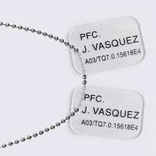 Hollywood Collectibles Group Aliens Vasquez Dog Tags