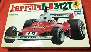 """Ferrari 312T"" Tamiya 1/12 Bis Scale Series No.17 Plastic Kit"