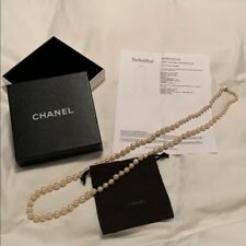 Chanel Vintage Pearl Strand Necklace