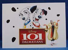"""101 Dalmatians 4 pc Lithograph Set & Folder Disney Store Authentic 10"""" x 14"""""""