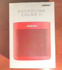 Factory Sealed Bose SoundLink Color II 2 Portable Speaker System - Coral Red