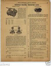 1922 PAPER AD Essandee Boyce Moto Meter Radiator Cap Deluxe