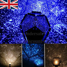 Romantic Astro Star Sky Laser Projector Cosmos Night Light Lamp 3 Colors