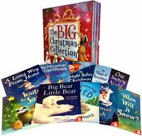 Big Christmas Collection (Children Reading Bedtime Stories) 10 Books Box Set New