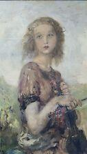 AUREL NARAY  ( Hungarian, 1883-1948) A Young Violinist