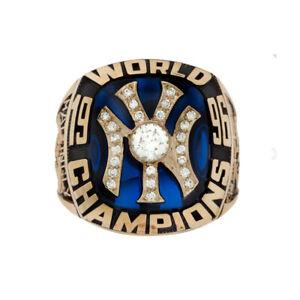 1996 Yankees World Championship Ring Brass Gold
