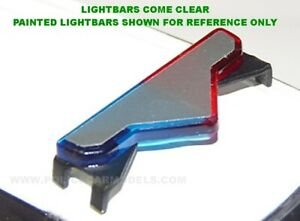 1/43 Valor Lightbar For Model Police Cars - Longer SUV Version - 2 PACK - IM43-1