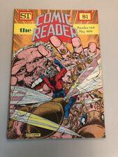 COMIC READER #168 fanzine 1979 Ant Man Godzilla cover Bob Layton