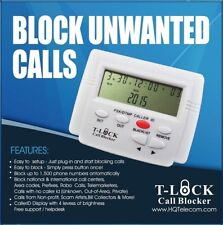 T-Lock Call Blocker Latest Version + Y-Splitter + Search Unsolicited Callers