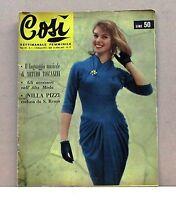Così - Gli accessori nell'alta moda [Rivista n. 5, 3 febbraio 1957, anno III]
