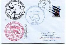 1998 TAMARA Scott South Pole Station Polar Antarctica Cover SIGNED