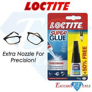 Loctite Super Glue Precision 50% Free 7.5g Precise Application Instant Adhesive
