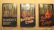 PATRICIA CORNWELL - complete ANDY BRAZIL SERIES, 1st ed.